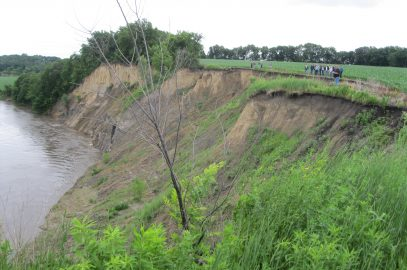 Long term sediment research project in South Central Minnesota concludes