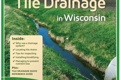 Tile Drainage in Wisconsin publication updated