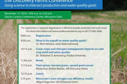 7th Annual UW Discovery Farms Conference